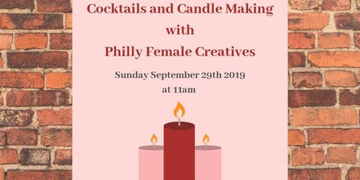 Cocktails and Candle Making
