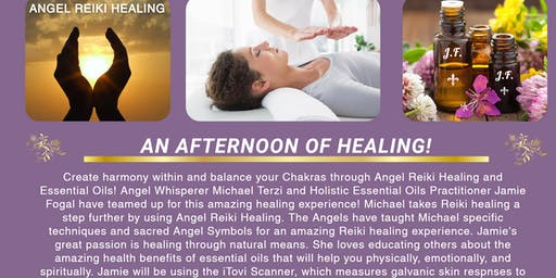 Angel Reiki Healing and Essential Oils