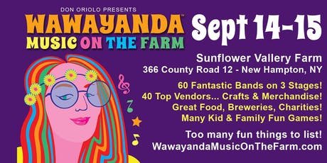 WawayandaMusicOnTheFarm.com tickets