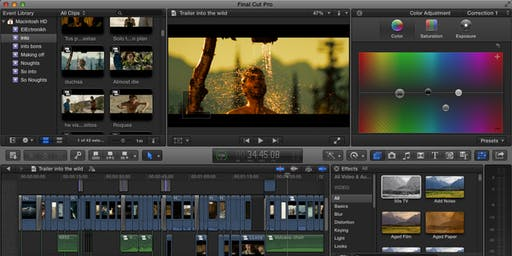 Final Cut Pro Training