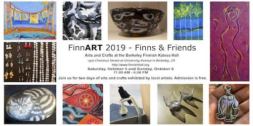 FinnART 2019 - Finns & Friends: Arts and Crafts at Berkeley Finnish Hall