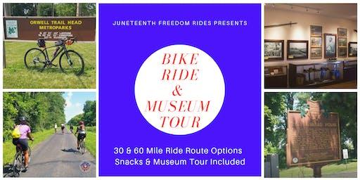 30/60 Mile Bike Ride & Museum Tour