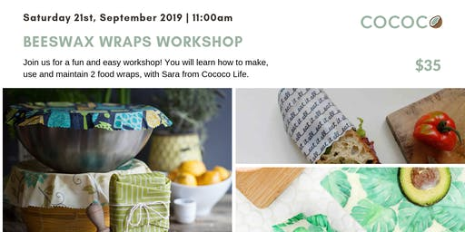Beeswax Wrap Workshop