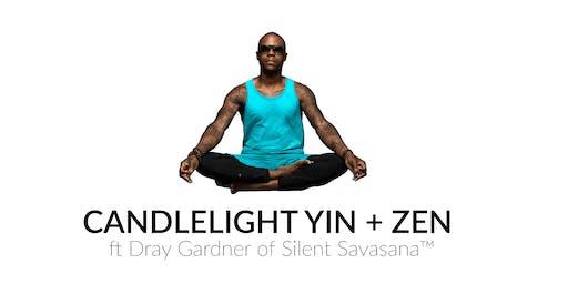 Yin + Zen Candlelight Yoga w/ Dray Gardner