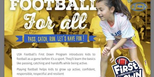 USA Football presents First Down Program