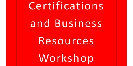 Scioto County Small Business Certifications and Business Resources Workshop tickets