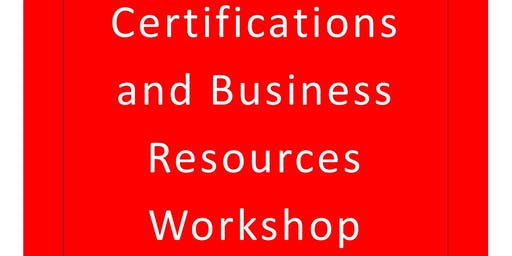 Scioto County Small Business Certifications and Business Resources Workshop