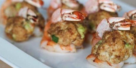 Stuffed Shrimp Interactive Cooking Class- Lets cook like Rockstars tickets