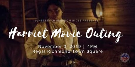 """""""Harriet"""" Movie Outing w/ Juneteenth Freedom Rides tickets"""