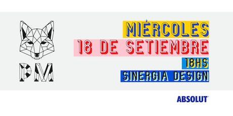 PM Afters · Miércoles 18 de setiembre · @Sinergia Design entradas