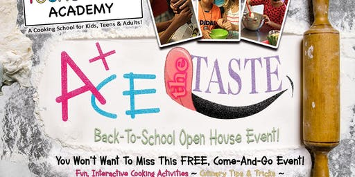 Fun n' Free event Cooking School Open House