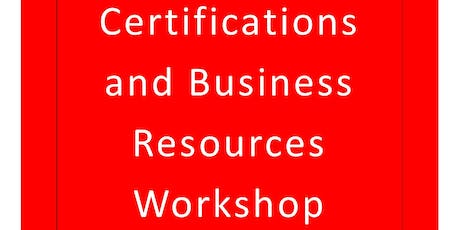Lawrence Co. Small Business Certifications and Business Resources Workshop tickets