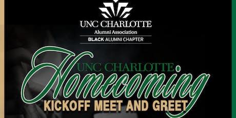 UNC Charlotte Homecoming Kickoff Meet And Greet tickets