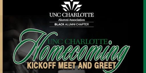 UNC Charlotte Homecoming Kickoff Meet And Greet