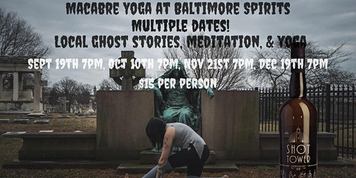 Macabre Yoga at Baltimore Spirits