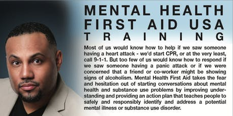 Mental Health First Aid USA (Adult) tickets