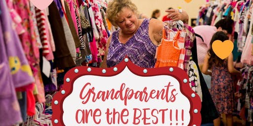 Grandparents Presale Pass - JBF BREMERTON - Weds 10/16