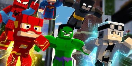 Minecraft Coding Bootcamp: Superheroes tickets