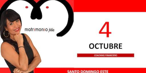 Charla gratuita Coaching Financiero Santo Domingo Este
