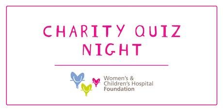 Mel's Charity Quiz night - Women's & Children's Hospital Foundation tickets