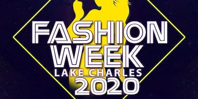 Fashion Week Lake Charles 2020 - SPONSORSHIP TIERS