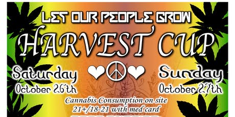 LET OUR PEOPLE GROW HARVEST CUP tickets