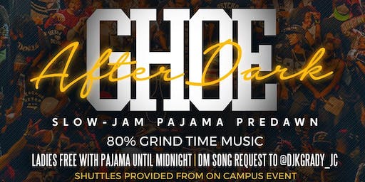 GHOE AFTER DARK : SLOW JAMS PAJAMA PREDAWN