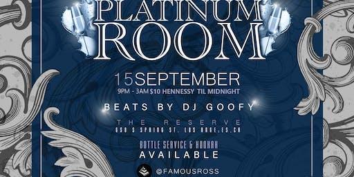 The Platinum Room