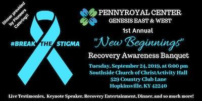 "Genesis ""New Beginnings"" Recovery Awareness Banquet"