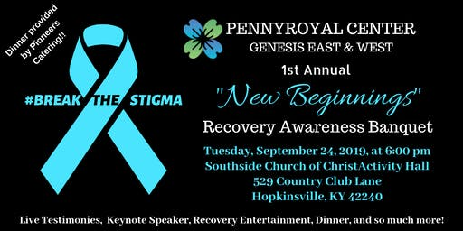 "Genesis ""New Beginnings"" Recovery Awareness Banquet"