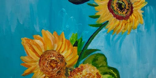 Paint Night- Van Gogh Sunflowers