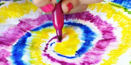 Texta Tie Dye Tote Bag - Spring School Holiday Program