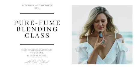 Pure-Fume Blending Class tickets