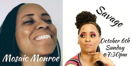 """Introducing Savage &  Mosaic Monroe: The Alter Egos Of Dani Skye"" tickets"