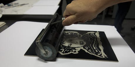 Face off—printmaking tickets