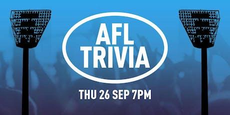 AFL Trivia in BELMONT tickets