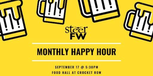 SteerFW Happy Hour: Food Hall at Crockett Row