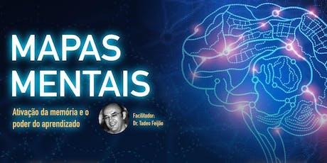 [Workshop] Mapas Mentais - Tadeo Feijão tickets