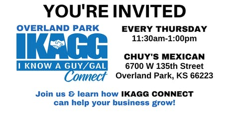 Overland Park IKAGG CONNECT Weekly Meeting tickets
