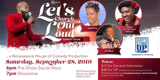 Let's Church Out Loud: Comedy Show
