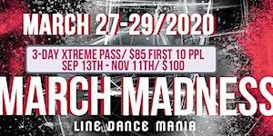 March Madness Line Dance Mania 2020