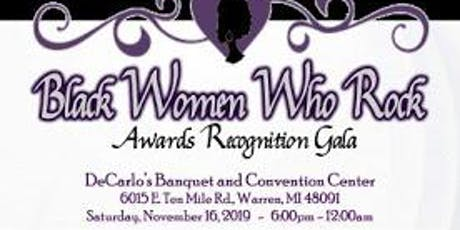 Black Women Who Rock Awards Gala tickets