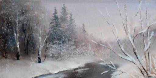 Acrylic Art Class: First Snow Thurs October 10