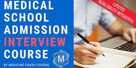 MMI Medical School Interview Course in Edinburgh (2020 Entry) - Medicine Interview Preparation tickets