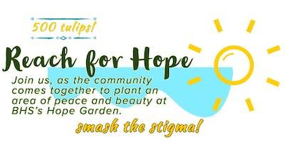 Reach for Hope - Bow High School Hope Garden Planting