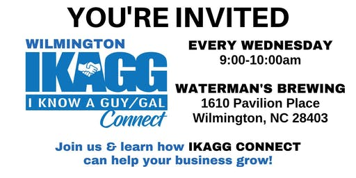 Wilmington IKAGG CONNECT Weekly Meeting