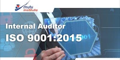 Pelatihan Internal Auditor ISO 9001:2015