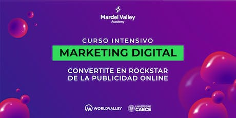 MardelValley Academy | Marketing Digital entradas
