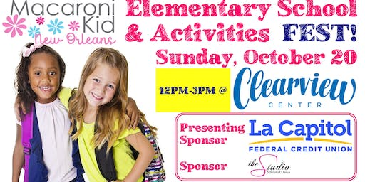 Elementary School and Activities Fest
