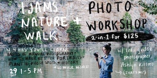 Ijams Nature Walk + Photo Workshop
